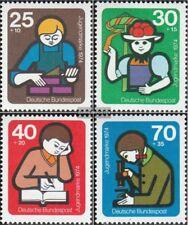 BRD (BR.Deutschland) 800-803 (kompl.Ausg.) FDC 1974 Jugend