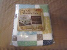 Sasha Queen Size Country Quilt in Original Packaging - Cracker Barrel