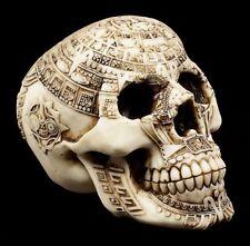 Calavera - aztecas Calavera - SKULL Figura Maya Calavera Patrón