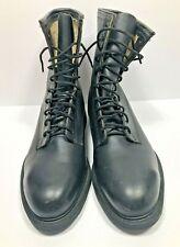 Wolverine World Wide Black Boots Steel Toe Military Combat Vintage 1992 Men 10