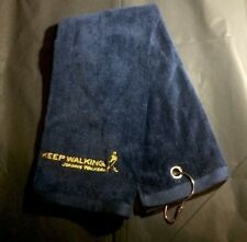 Limited EditionJohnnie Walker Dark Blue With Gold Stitch Logo Golf Towel
