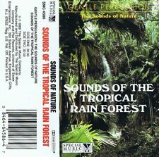 Sounds of the Tropical Rainforest cassette album very good nature sounds