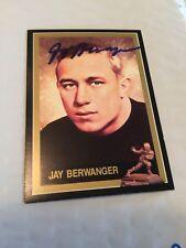 JAY BERWANGER 1991 SIGNED HEISMAN CARD