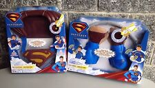 Superman Returns  series#Punch N Crush Electronic Gloves+fly fx cape  #NIB