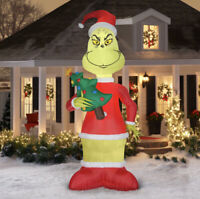 Dr. Seuss The Grinch 11 Foot Tall LED Christmas Inflatable by Gemmy Industries