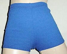 NWT GK Elite Nylon sports cheerleading shorts   Royal Blue  XL