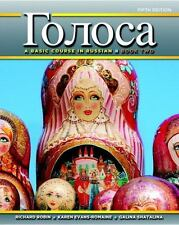 Golosa : A Basic Course in Russian, Book Two by Karen Evans-Romaine, Richard M.