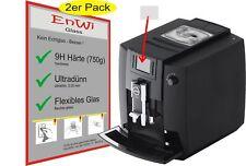 2x EnWi Glass 9H Jura E60 15082 Kaffeevollautomat Displayschutzfolie Panzerglasf