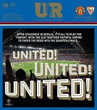 Manchester United v Sevilla - UEFA Champions League - 13 March 2018 - MINT + T/S