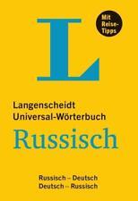 Langenscheidt Universal-Wörterbuch Russisch (2017, Kunststoffeinband)