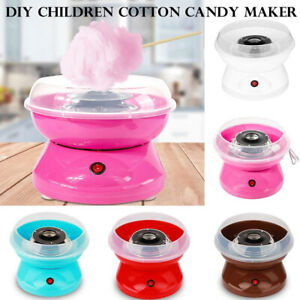KQ_ Cotton Candy Sugar Maker Machine Electric Floss Commercial Carnival Party Sw