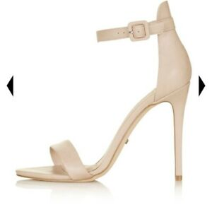 Topshop Ladies Girls Rita Nude Evening Shoes Brand New Boxed Size 2 RRP £42