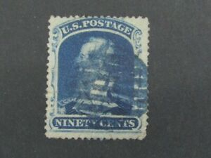 Nystamps US Stamp # 39 Used $10000 e6xn