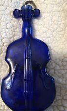 Blue Cobalt Violin Vase With Hanger