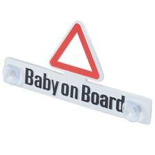 RICHTER Schild BABY ON BOARD Hinweisschild mit Saugnapf HR-IMOTION 124 100 01