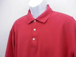 NIKE GOLF Dry Fit 3-Button Short Sleeve Polo Golf Shirt Coral Mens L