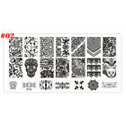New Plastic Manicure Template Nail Art Image Stamping Polish Print Plate Stamper