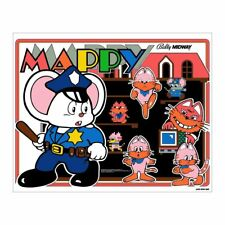 Mappy Arcade Marquee - Bally/Midway Cab