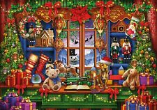 "WENTWORTH Wooden Jigsaw Puzzle ""Ye Olde Christmas Shoppe"" 250 pcs Whimsy fun NEW"