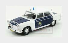 Peugeot 404 Police 1965 White Blue EDICOLA 1:43 ED128612