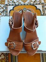 graceland tan leather sandals size 6uk/39eu