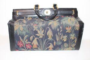 Vintage Leder Weekender Tasche Koffer Boardbag VTG leather Hippie Suitcase BAG