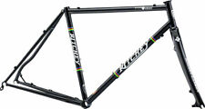 NEW Ritchey Swiss Cross Steel Frame Carbon Fork Disc Brake Road Bike Black 55cm