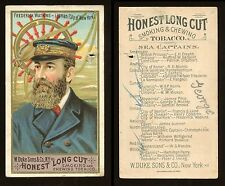 "1887 N127 Duke Sea Captains ""Frederick Watkins"" POOR (Pin Hole) **AA-7751**"