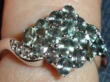 Super Rare Natural Tunduru Colour Change Sapphire & Topaz Silver 1.86ct R - S