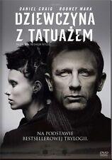 Dziewczyna z tatuażem - Fincher David -  DVD - POLISH RELEASE - FREE DELIVERY