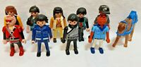 Playmobil Figures Bundle, Joblot of 10 X Characters, Figures, Great Condition