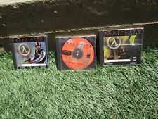 Half-Life lot of 3 PC, Game of the Year 1999 blue shift 2001 counter strike 2000