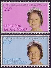 Mint Never Hinged/MNH Royalty British Norfolk Island Stamps