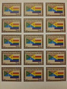 1 Kola 2021 micronation Royaume de Kôrô (nord Cote d'Ivoire) drapeau LGBT