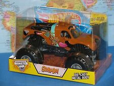 1/24 HOT WHEELS MONSTER JAM TRUCK SCOOBY-DOO DIECAST METAL OFF-ROAD BRAND NEW