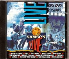 SAMSON LIVE CD GOLDEN EARRING COCK ROBIN TOTO NITS