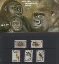 La confiance de préservation de la faune Jersey V 1988 timbres Menthe (ref A49).