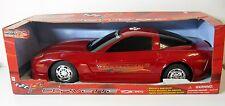 Auto Trendz Corvette Z06 w/Lights & Sound Plastic Kids Children Toy 1:10 Red NEW