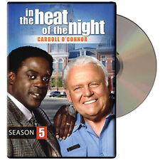 In the Heat of the Night: Season 5 [5 Discs] DVD Region 1