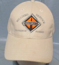 International Williams Service Florence KS Adjustable Beige Baseball Cap Hat