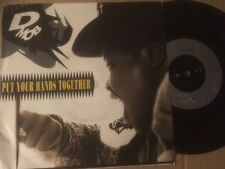 """D MOB feat NUFF JUICE 7"""" - PUT YOUR HANDS TOGETHER / A RHYTHM FROM WITHIN - F124"""