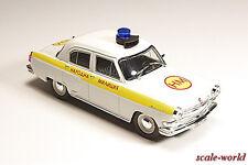 GAZ-21 Volga (Police Bulgaria) Deagostini, model cars 1/43