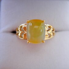 1.74ct Antique Cabochon Certified Rare Indonesian Opal Gold Ring