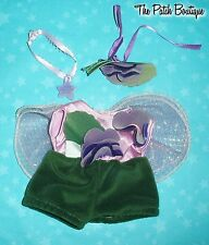 """CABBAGE PATCH KIDS MINI FAIRIES FAIRY 8"""" DOLL REPLACEMENT VIOLET ROMPER OUTFIT"""
