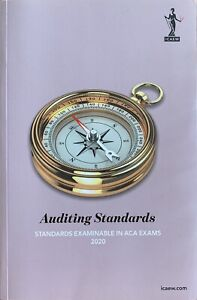 Auditing Standards ICAEW 2020