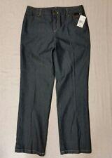 "NWT women's KIM ROGERS dark blue PANTS size 8 average 32"" Inseam 72/27/1%  new!"