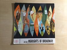 Vinyl LP - Highlights of Broadway by John Raitt