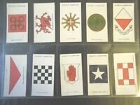 1924 John Player ARMY CORPS & DIVISIONAL SIGNS  set 50 cards Tobacco Cigarette
