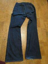 Gap 1969 Sexy Bootcut Flare Women's Dark Blue Jeans Size 29/8R Maternity