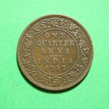 1917 India 1/4 Quarter Anna SNo57502